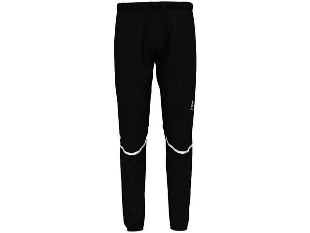 Odlo Zeroweight Windproof Warm - Pantalon running Homme - noir sur ... 9bc094622f5